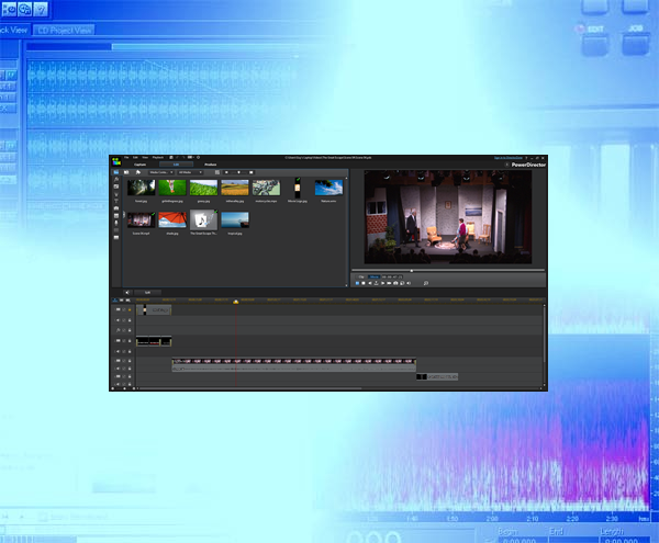 Video Editing background